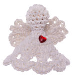 Crochet Angel Royalty Free Stock Images