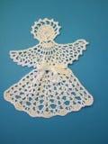 Crochet angel Stock Image