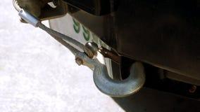 Crochet avec l'avant de bride du camion 4W Images libres de droits