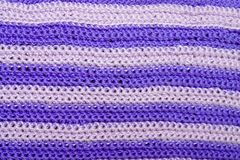 Crochet Background. Background/texture detail of crocheted yarn Royalty Free Stock Images