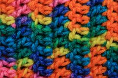 Crochet Background Royalty Free Stock Photo
