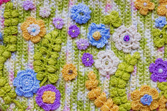 Crochet background Royalty Free Stock Photography
