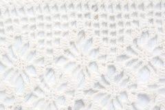 Crochet background texture Stock Image