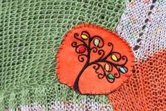 Crochet background Stock Image