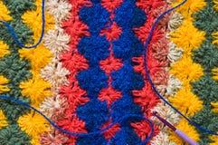 Crochet blanket. Stock Photos