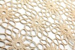 Crochet blanket. Isolated crochet blanket and white backround Stock Image