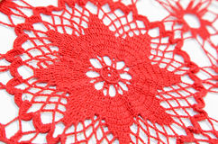 Crochet blanket Stock Images