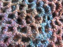 Crochet Bumpy Yarn Net Stock Photos