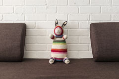 Crochet bunny Stock Image