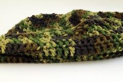 Crochet Camo Skull Cap Royalty Free Stock Image