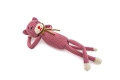 Crochet cat Royalty Free Stock Photo