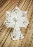 Crochet christmas angel Stock Photography