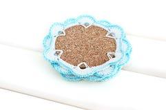 Crochet coaster Royalty Free Stock Photography