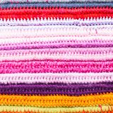 Crochet color background Stock Image
