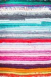 Crochet color background Royalty Free Stock Photography