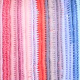 Crochet color background Royalty Free Stock Photos