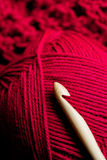 Crochet craftwork Royalty Free Stock Image