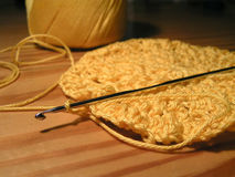 Crochet & crotchet Stock Photography