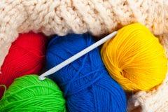 Crochet de crochet Images libres de droits