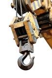 Crochet de grue Photographie stock libre de droits
