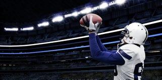 Crochet de touchdown de football américain Images libres de droits