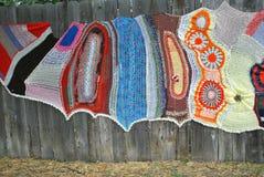 Crochet designs. Stock Photos