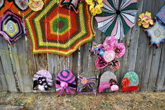 Crochet designs. Royalty Free Stock Image