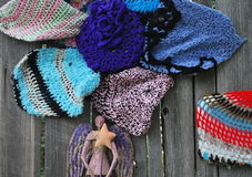 Crochet designs. Royalty Free Stock Photography
