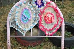 Crochet designs. Royalty Free Stock Photos