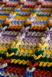 Crochet detail Stock Image
