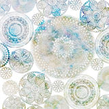 Crochet Doiley Background Design Royalty Free Stock Images