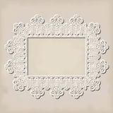 Crochet doily Royalty Free Stock Photography