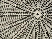 Crochet doily Stock Images