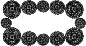 Crochet Doily background Royalty Free Stock Photo