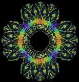 Crochet Doily background Stock Photo