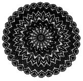 Crochet Doily background Royalty Free Stock Images