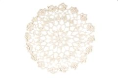 Crochet doily Royalty Free Stock Photos