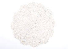 Crochet doily Royalty Free Stock Photo