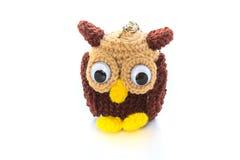 Crochet doll handmade art and crafts Stock Photos