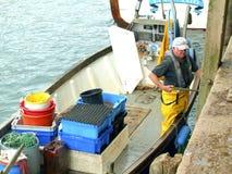 Crochet du jour, Looe, les Cornouailles. Photo stock