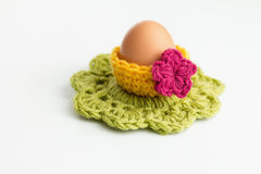 Crochet Easter Decorations royalty free stock images