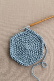 Crochet et laine de crochet Photo stock