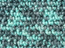 Crochet fabric close-up Stock Photos