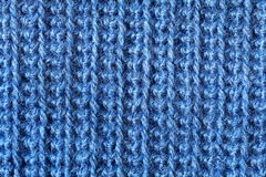 Crochet fabric close-up Royalty Free Stock Photos