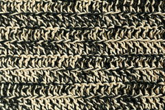 Crochet fabric close-up Royalty Free Stock Images
