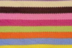 Crochet fabric pattern Stock Photo