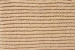 Crochet fabric pattern Royalty Free Stock Photos