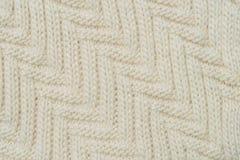 Crochet fabric pattern Royalty Free Stock Photo