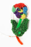Crochet Flower Handmade Decorative Object Royalty Free Stock Images