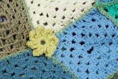 Crochet flowers Stock Images